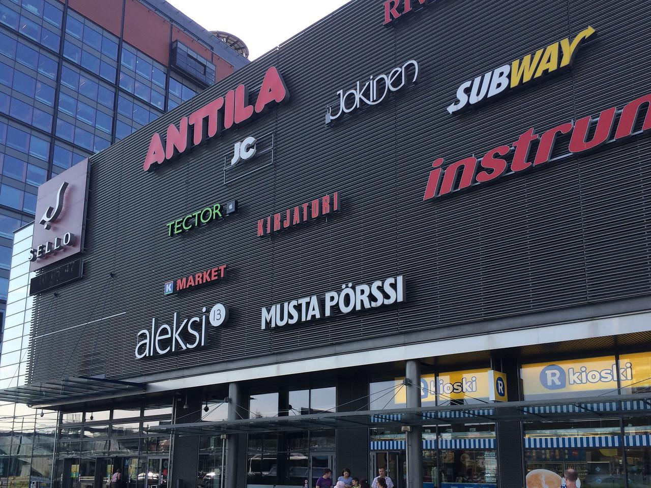 Helsinki - Shopping