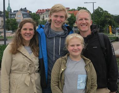 Jay Thompson Family