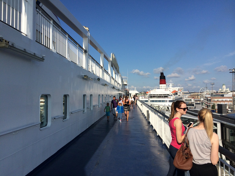 Our ferry from Helsinki to Tallinn