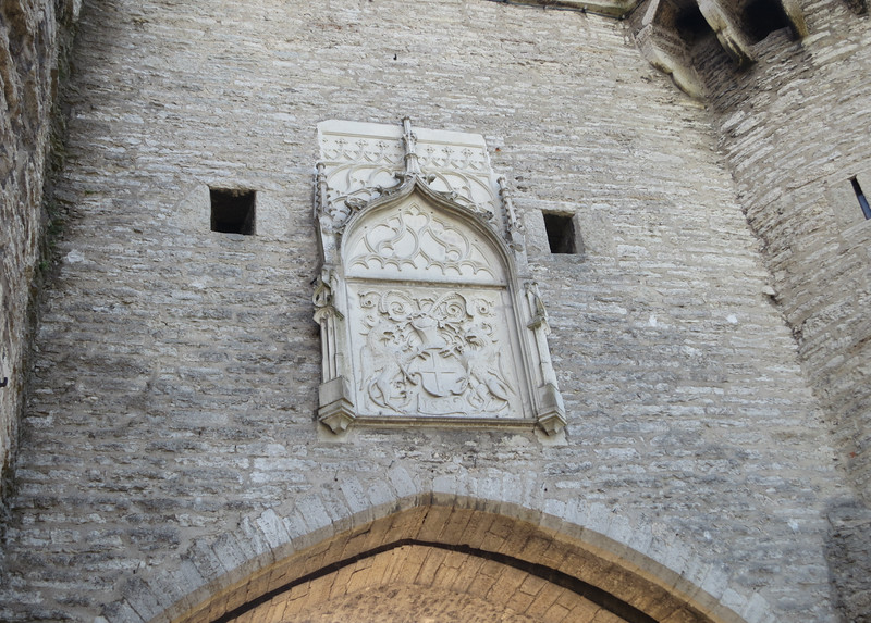This relief dates from the 16th century.