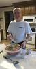 Meatball Chef preparing his famous meatballs