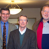 Jeane's doctoral dissertation committee (Don Kalmey, Fred Schloemer, and Brother Dr. Shaughnessy).