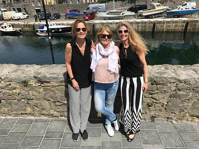 Kicki & Lena Isle of Man Visit May 17