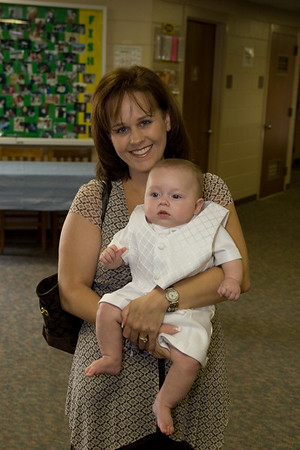 Logan's Baptism all