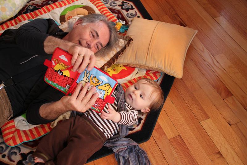 Reading with Grandpa Severini