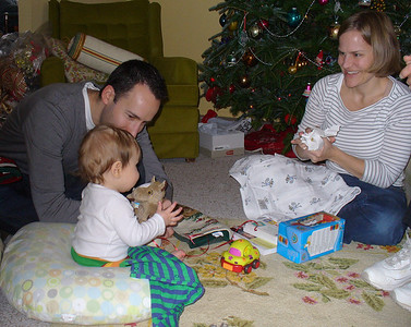 Luca's first Christmas.