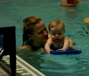 First swim class!