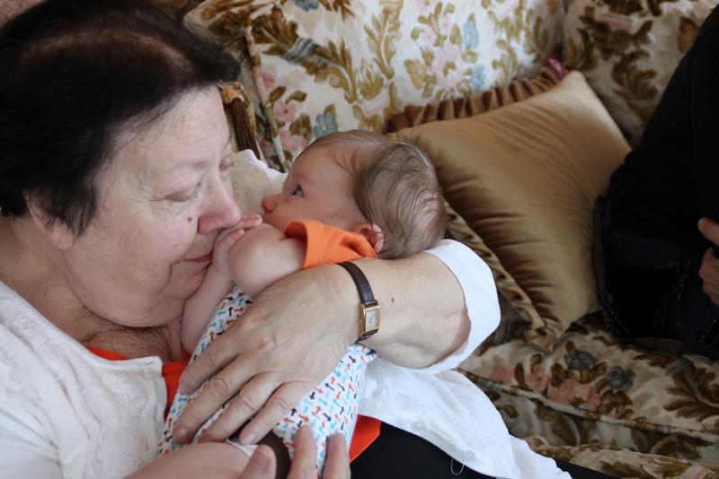Luca meets Great-Grandma Severini