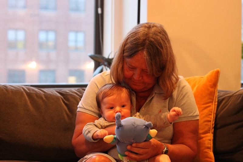 Meeting Great Aunt Cheryl