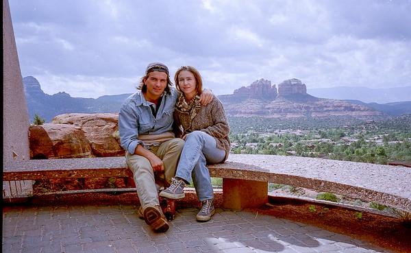Marco & Betty in Sedona