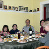 Dinner at Rebecca and Hassan L'Bahy's place in Leominster, MA.