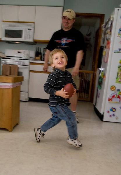 Jake's touchdown dance