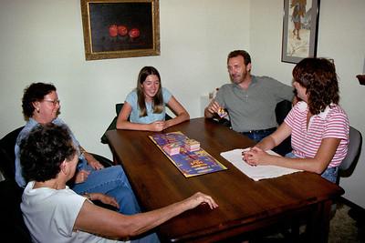 Lela, Rita, Cecilia, Randy and Ginny ar Floyd and Lela's - Aug.2004