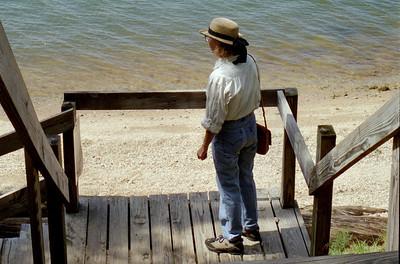 Rita, Lake of the Ozarks, October, 2000.