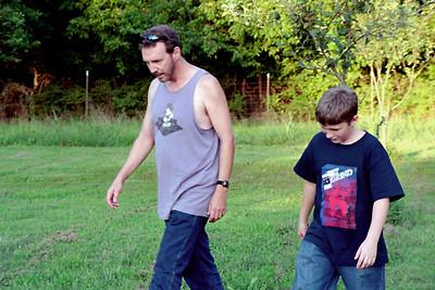Randy and Bobby at Gary & Rita's - Aug. 2004