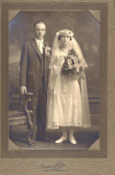 Herman Fischer and Ella Harder