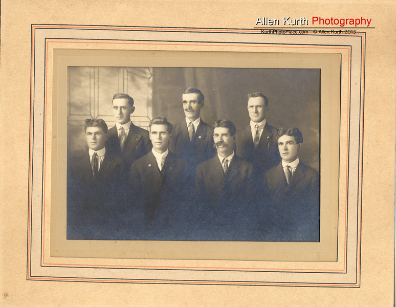 Kurth Brothers.  John is on the far right of the back row.