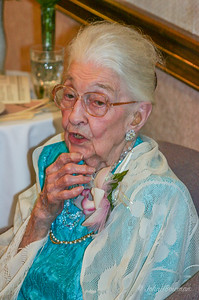 Aunt Fredonia , 100th Birthday