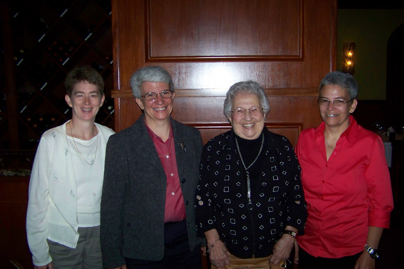We take Jeane's mother out to dinner for her 88th birthday!  September, 2010