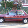Patti's 1987 Honda Civic...finally trading it in for a 2011 Ford Fiesta.  December 2010