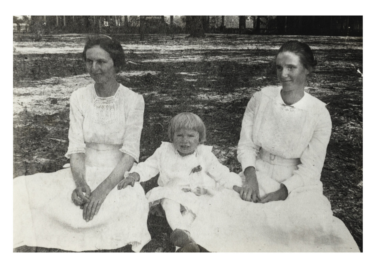 These beautiful ladies Lelia Jackson and Lena Wood. They were best friends. Lena married Lewis William Pierce.