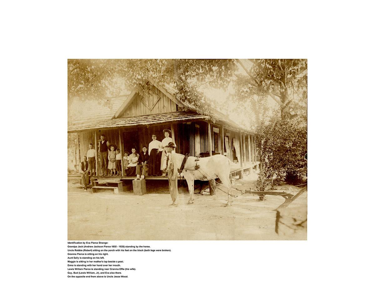Family of Andrew Jackson Pierce