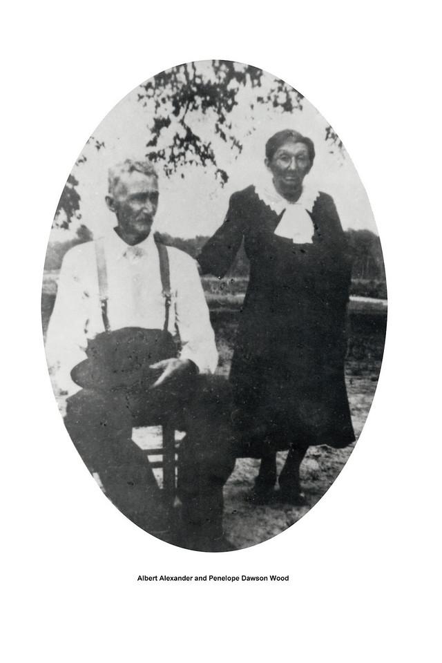 Albert Alexander and Penelope Dawson Wood