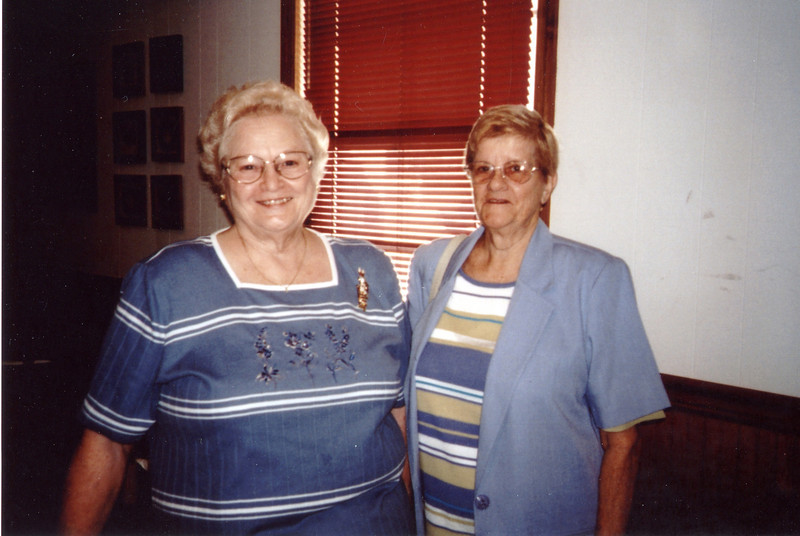 Mary Hinton Strange (wife of Clyde) and Madeline Pierce Turnage
