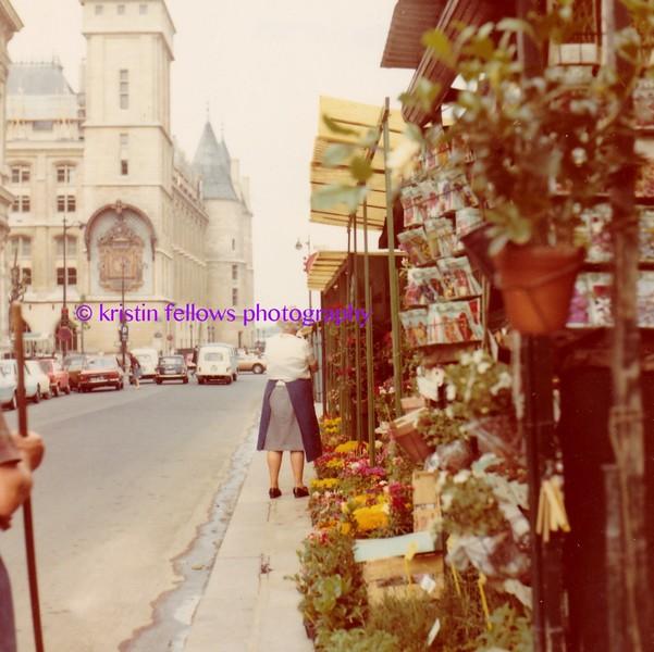Marché aux Fleurs, Paris 1975