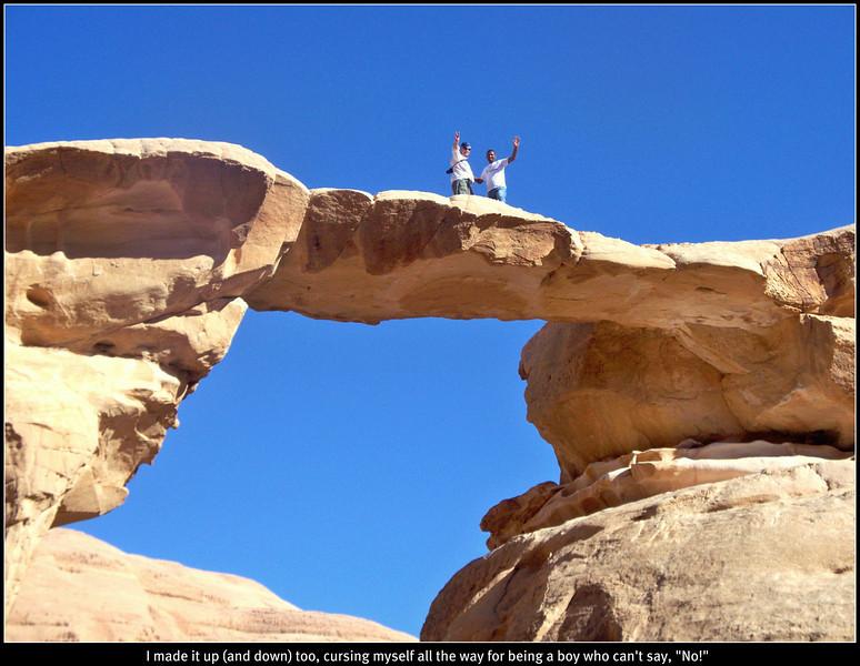 Burdah, Arch, Wadi, Rum, Jordan, Ted, guide, Nov, 2010