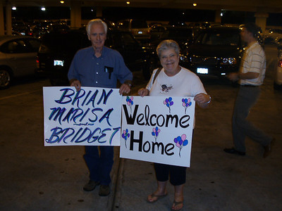 Bridget's Arrival to USA