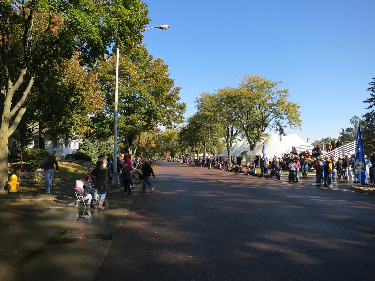Homecoming parade<br /> October 19, 2013