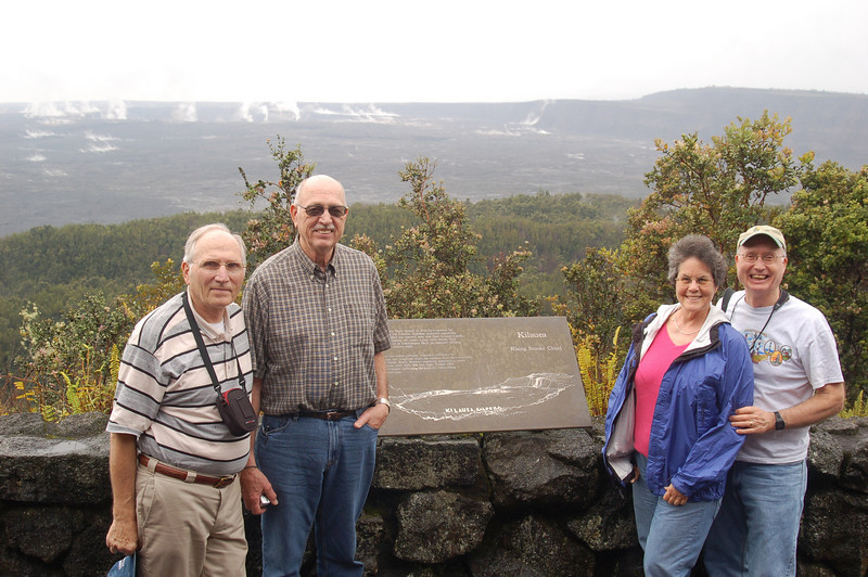 Kilauea Crater was steaming. Good show, JD!