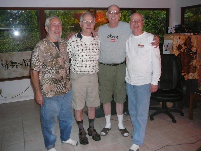 The four boys (in Hawaii)