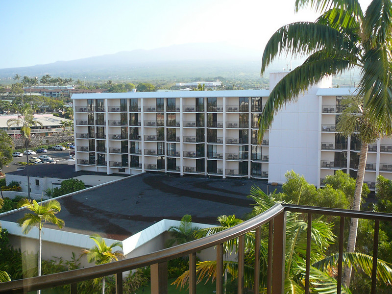 We spent the night February 11th at King Kamehameha's Kona Beach Hotel with lovely views of Mauna Loa.