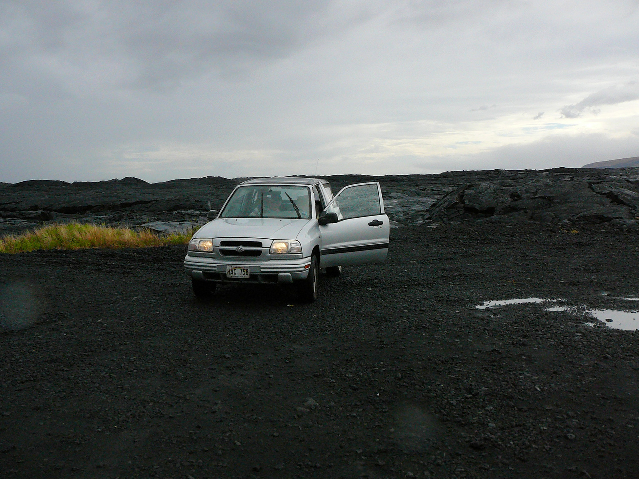 Our ride at the dead end