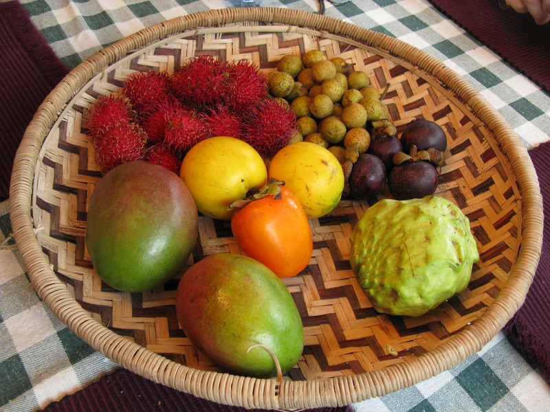 Tropical fruits from the Farmer's Market<br /> February 3, 2008