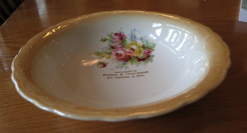 Promo plate for Tom's dad's business