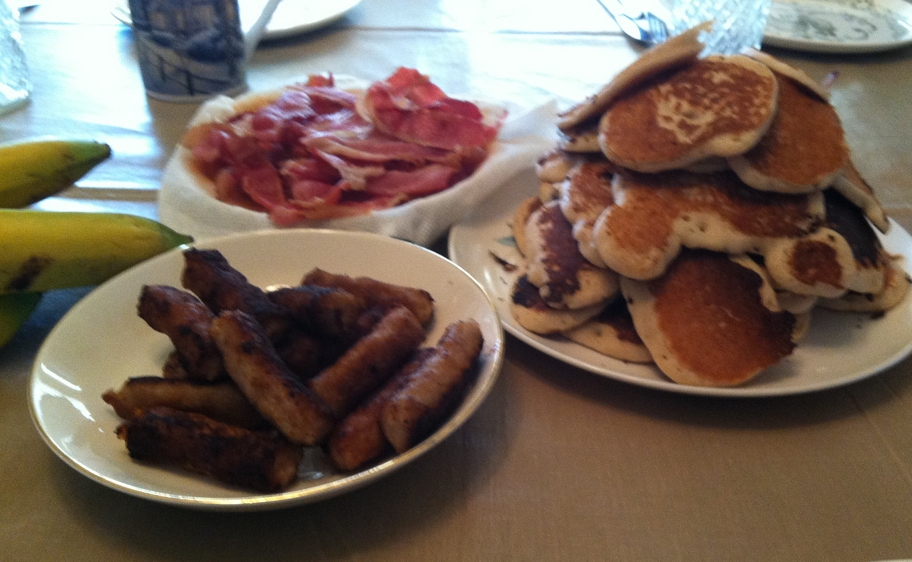 Oscar's famous pancakes