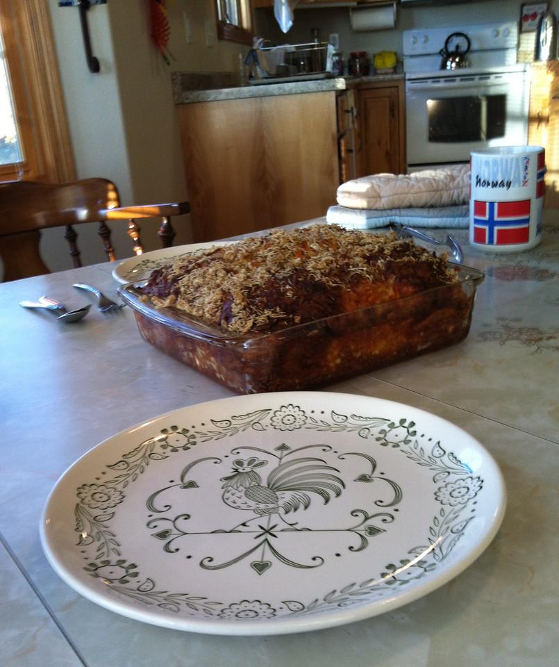 Oscar's yummy breakfast casserole