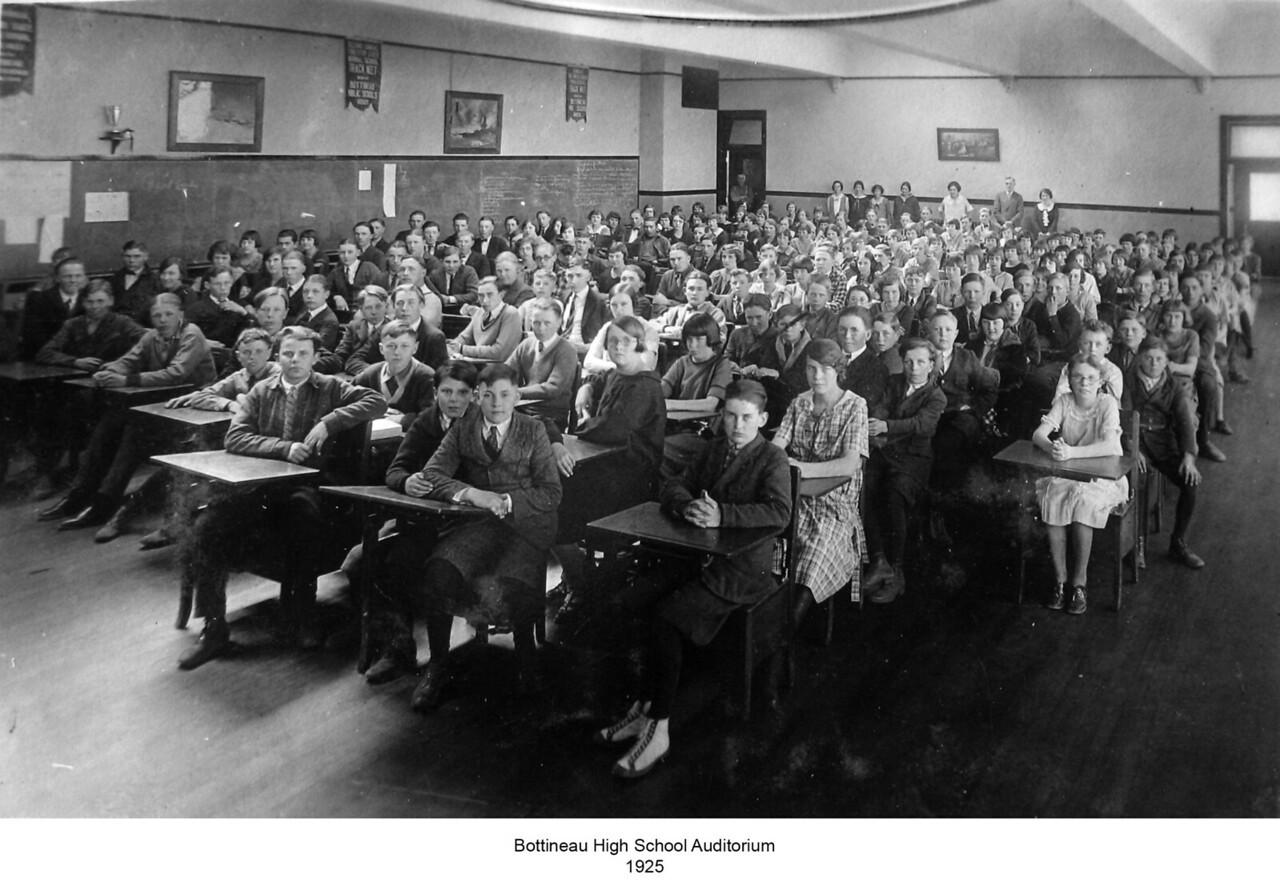 Bottineau High<br /> c. 1925