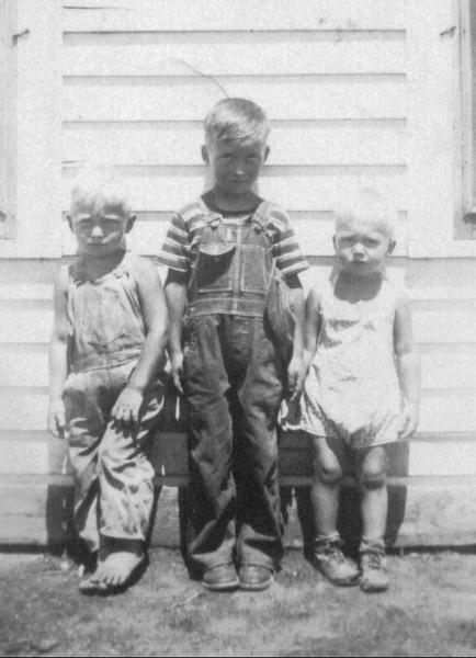 David, Darrell, and Oscar<br /> 1938
