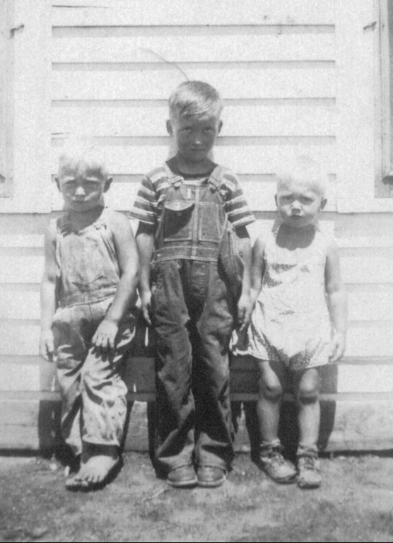 David, Darrell, and Oscar<br /> 1938
