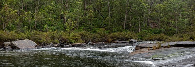 Waterfall pano