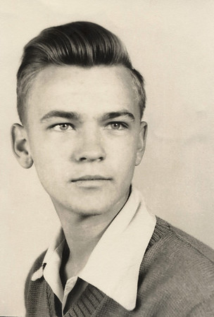George Junior Wright, as a sophomore, 1946-47.
