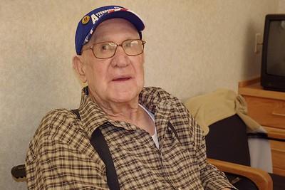 Kenneth Cunningham, December 2011. Warrensburg Veterans Home