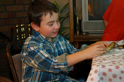 Ethan, Christmas at Norma's, 2011.