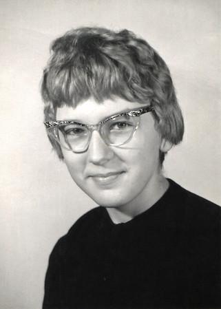 Janice Wright, Pipkin school photo, 1960-61