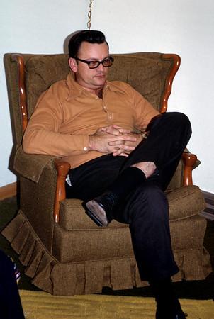 George  Junior Wright, Christmas, 1971