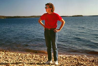 Rita Wright. Stockton Lake; early 1990s.